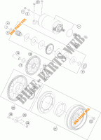 MOTOR DE ARRANQUE para KTM 1190 ADVENTURE ABS GREY 2014